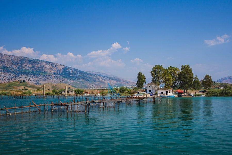 Best Lakes In Albania - Lake Butrint
