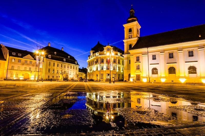 Best Hotels In , Sibiu, Romania - Town Square Sibiu