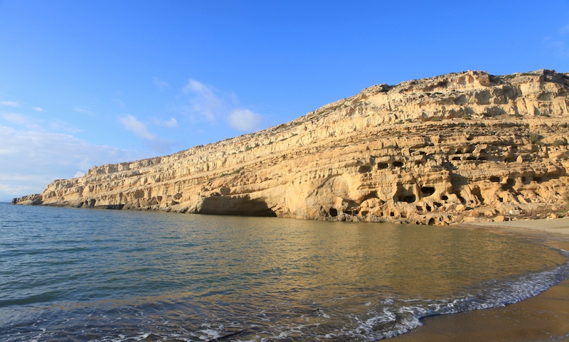 Guide To Where To Stay In Crete, Greece - Matala Beach Caves