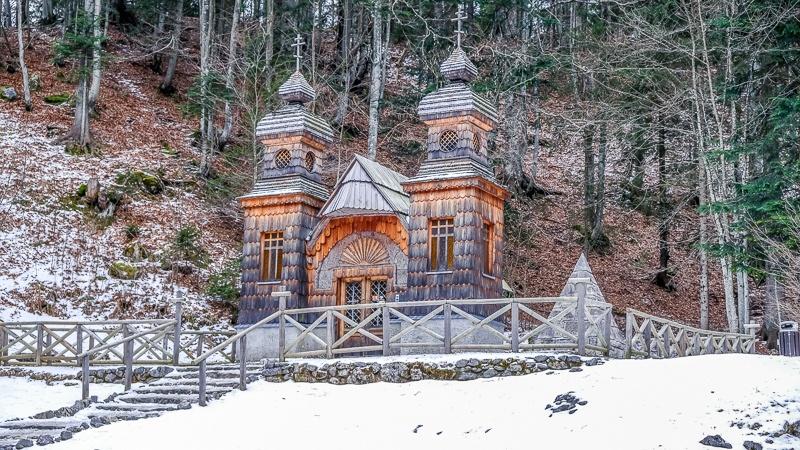 3 days in Slovenia - Russian Chapel