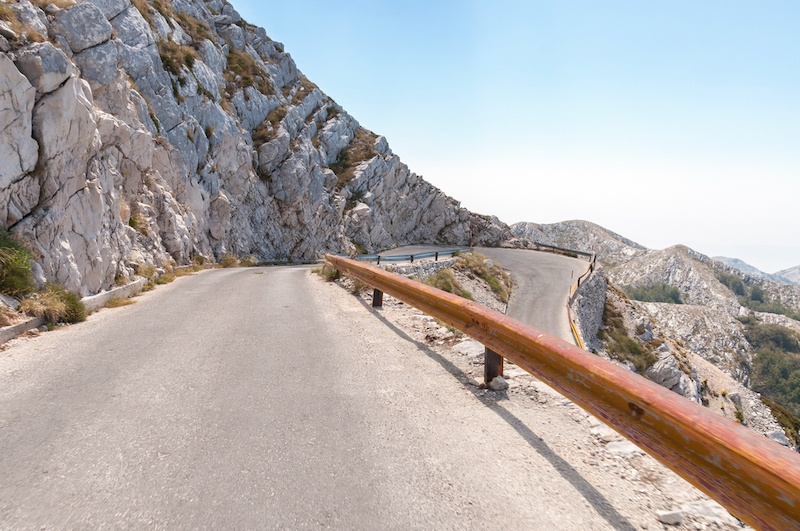 Trogir to Dubrovnik Road Trip - Road To Biokovo