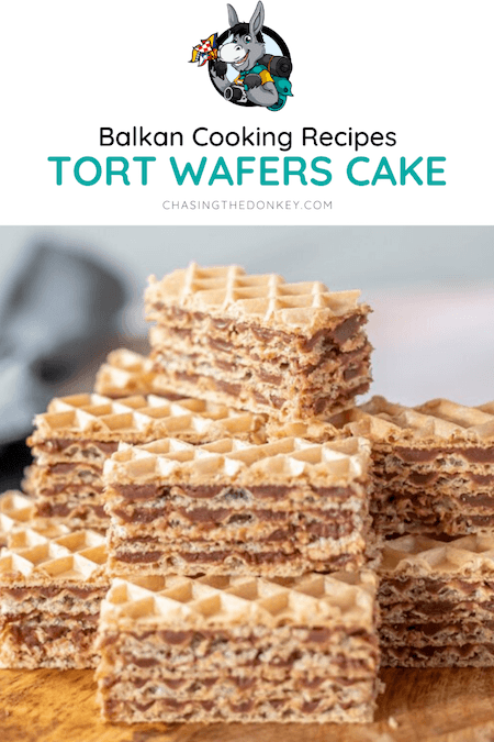 Balkan Cooking Recipe_Tort Wafers Cake