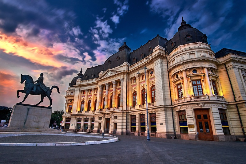 Bucharest Itinerary: Calea Victoriei Bucharest Sunset