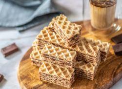How To Make How To Make Oblatne s Čokoladnom Karamel Kremom (Tort Wafers Cake) 27