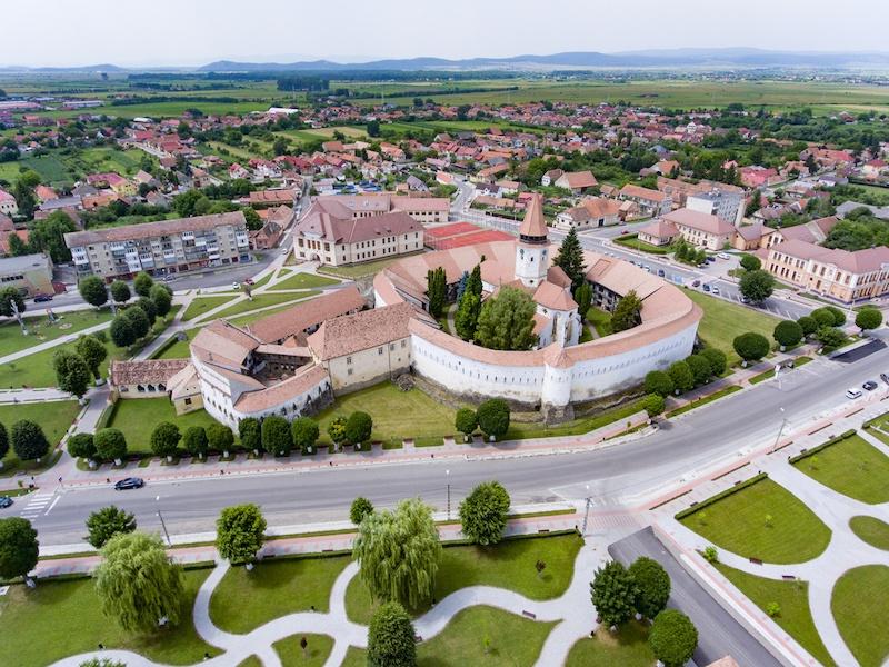 Prejmer Saxon Church, Transylvania, Romania