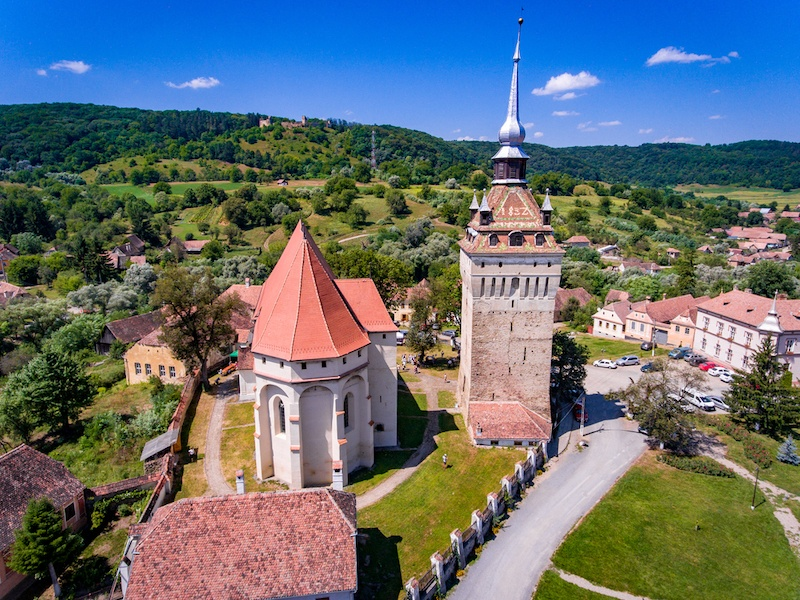 7 UNESCO Villages In Romania With Fortified Churches