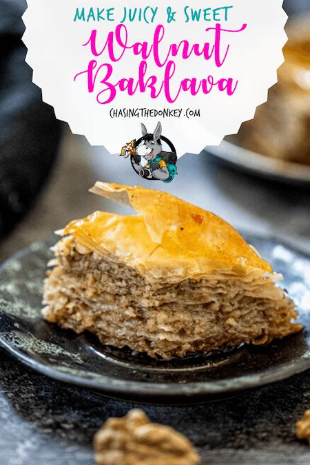 Balkan Cooking_Walnut Baklava Recipe