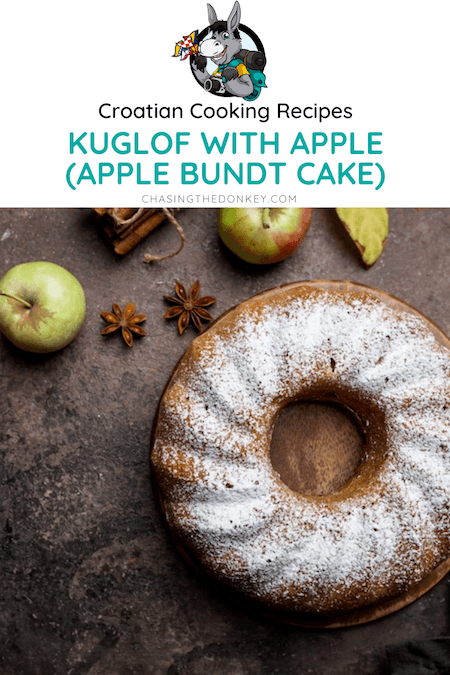 Croatian Cooking_Kuglof Recipes_Apple Bundt Cake