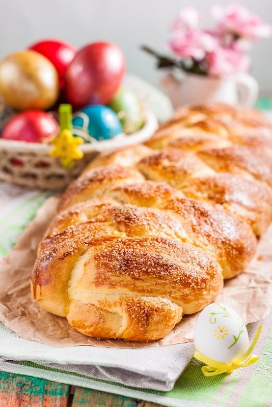 Kozunak Bulgarian Easter Bread -Springtime in Sofia