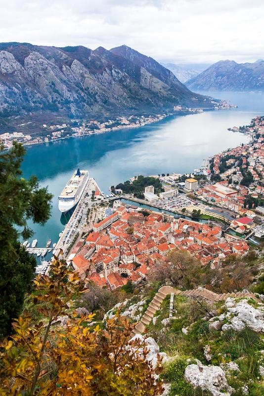 Cruising The Balkans - Old town Kotor, Montenegro Cruising Balkans