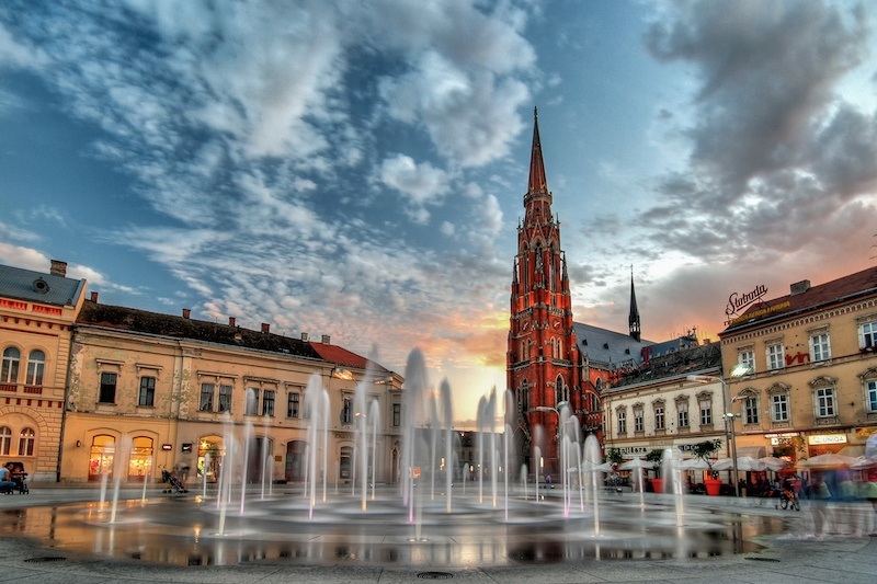 Beat The Crowds In Slavonia_Co-cathedral in Osijek