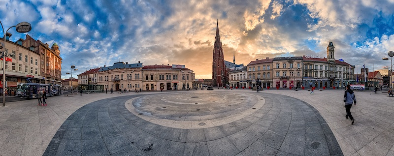 Beat The Crowds In Slavonia_Osijek Main Square