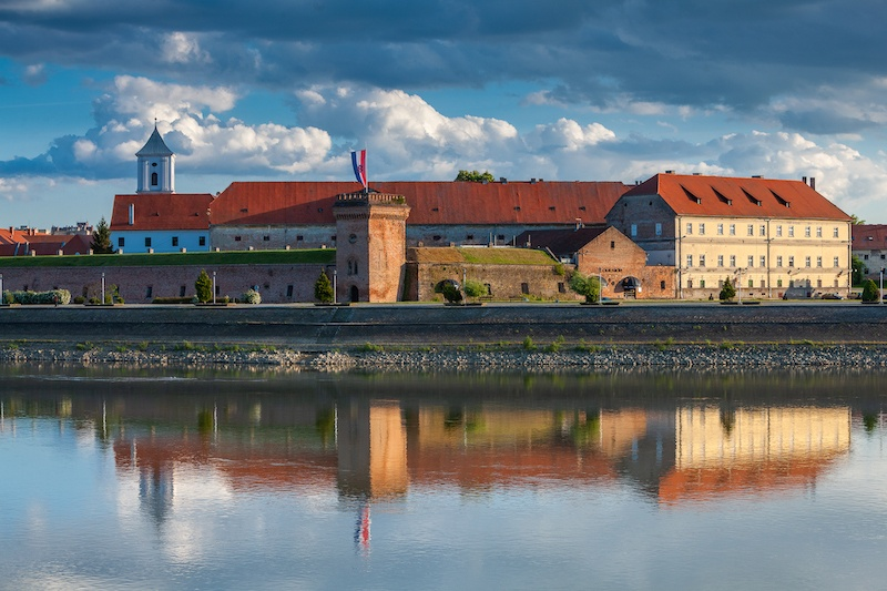 Beat The Crowds In Slavonia_TVRĐA fortress in Osijek