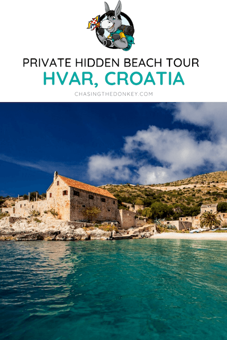 Croatia Travel Blog_Private Hidden Beach Tour Hvar_Social Distance Travel Ideas Croatia