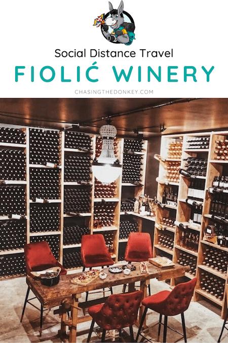 Croatia Travel Blog_Private Wine Tasting Near Zadar At Fiolic Winery_Socia Distance Travel Croatia