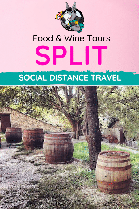 Croatia Travel Blog_Unique Foodie and Wine Tours in Split Croatia_Social Distance Travel in Croatia_PIN