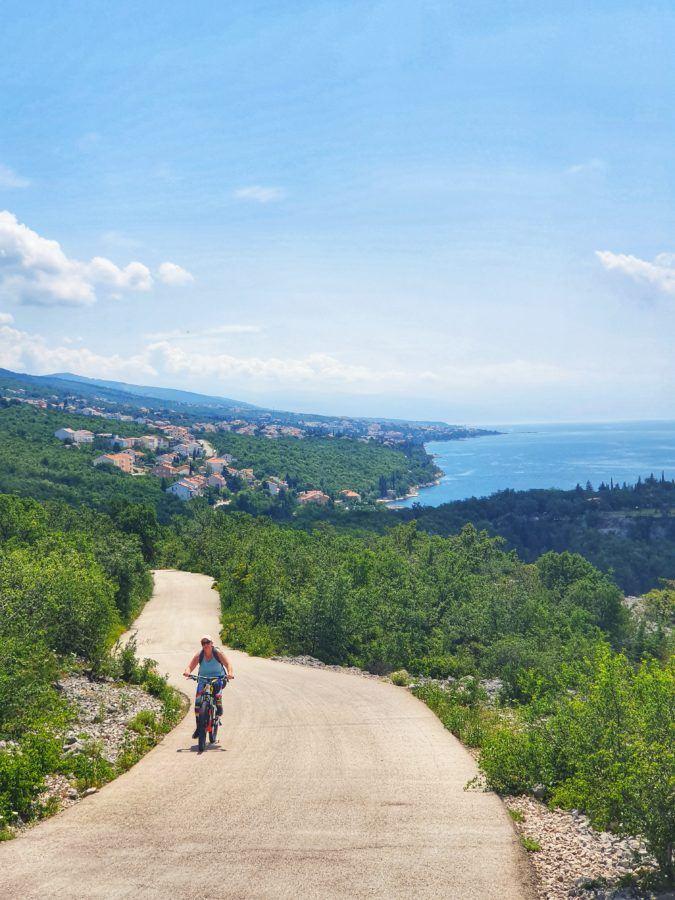 Cycling in Croatia - Social Distancing Travel In Croatia