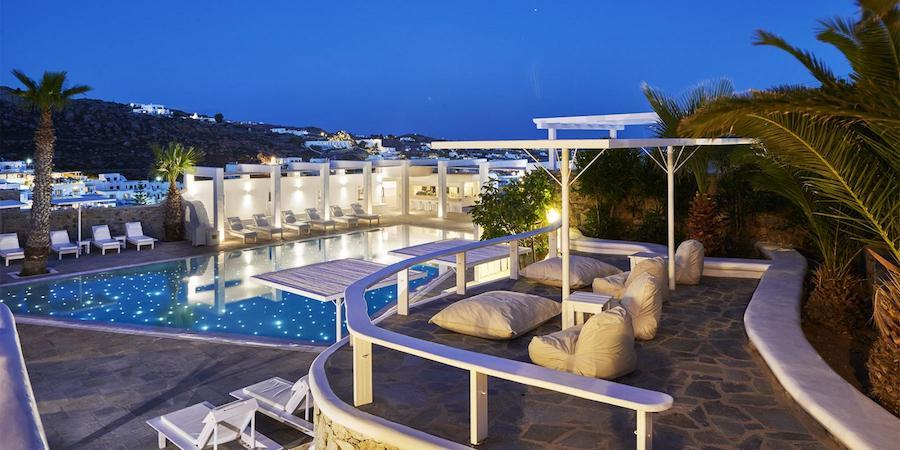Greece Travel Blog_Where To Stay In Mykonos Greece_Palladium Hotel