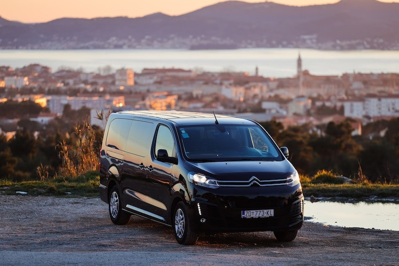 PRIVATE TRANSFERS CROATIA_VAN