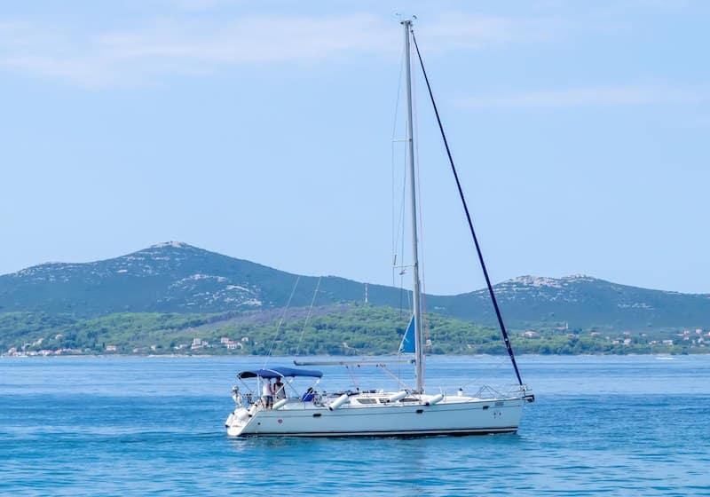 Social Distancing In Croatia - Zadar_Boat_Sail