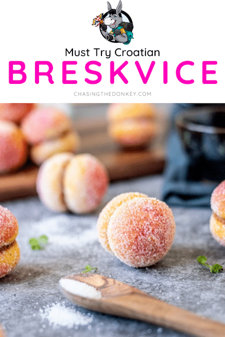 Croatian Recipes_Breskvice Peach Shaped Cookies