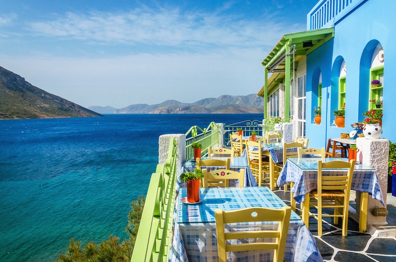 Where To Stay In Greece To Avoid The Crowds - Greek Restaurant