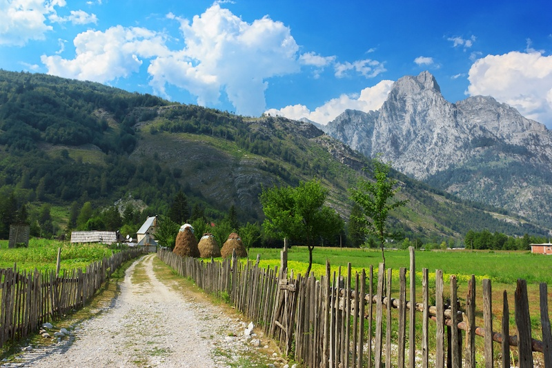 Theth To Valbona Hike In The Albanian Alps