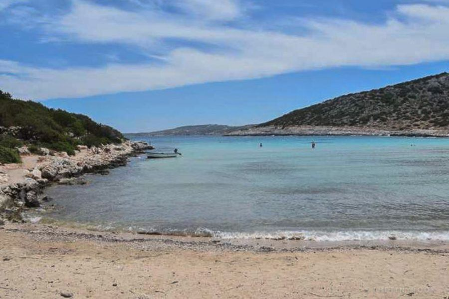 Where To Stay In Greece To Avoid The Crowds-BEACH ON LIPSI ISLAND