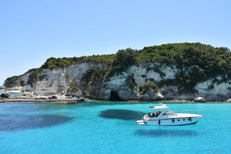 Where To Stay In Greece To Avoid The Crowds- COAST OF ANTIPAXOI ISLAND