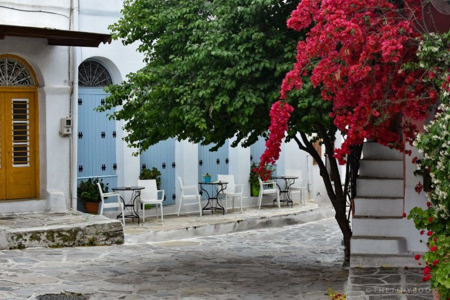 Where To Stay In Greece To Avoid The Crowds -MOUNTAIN VILLAGE NAXOS ISLAND