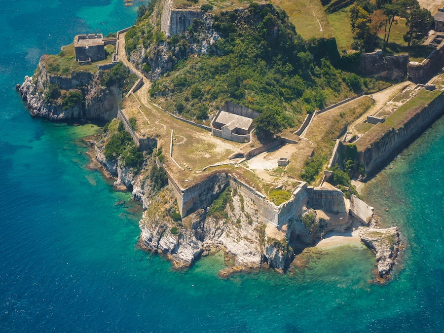 Ideas For Things To Do In Corfu In Winter For Everyone - Old Byzantine fortress