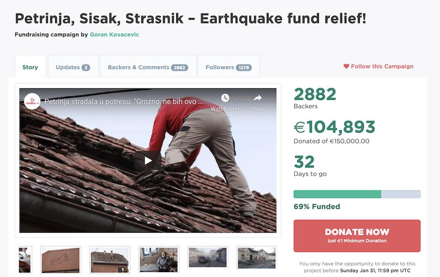 Goran Earthquake Appeal