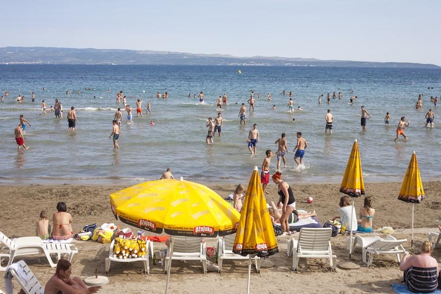 Sandy Beaches in Croatia_Bacvice Beach Split