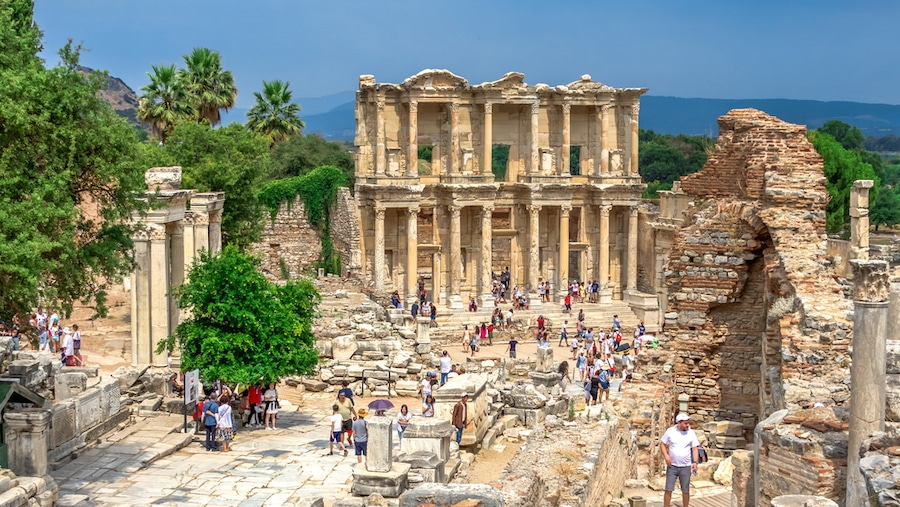 Visiting Ephesus Turkey. What to see and do_Library of Celsus