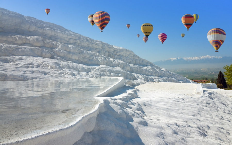 How To Get From Pamukkale To Cappadocia - Hot Air Balloons Turkey