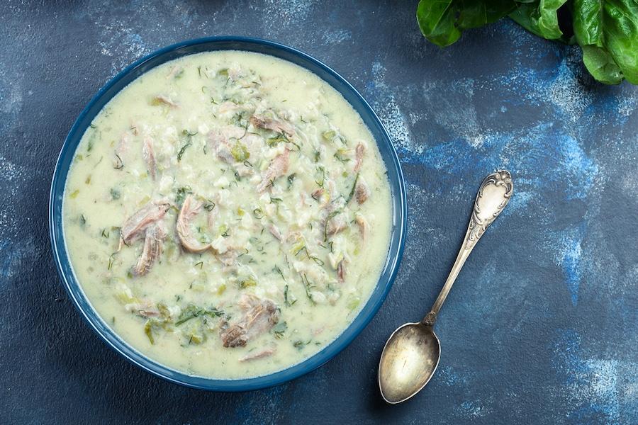 Magiritsa - Greek lamb soup
