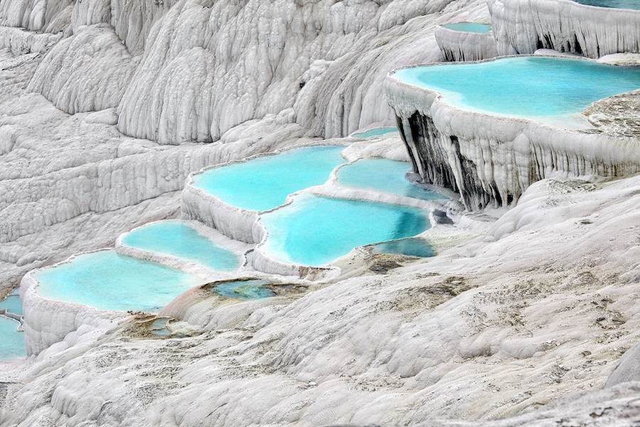 How To Get From Pamukkale To Cappadocia - Pools
