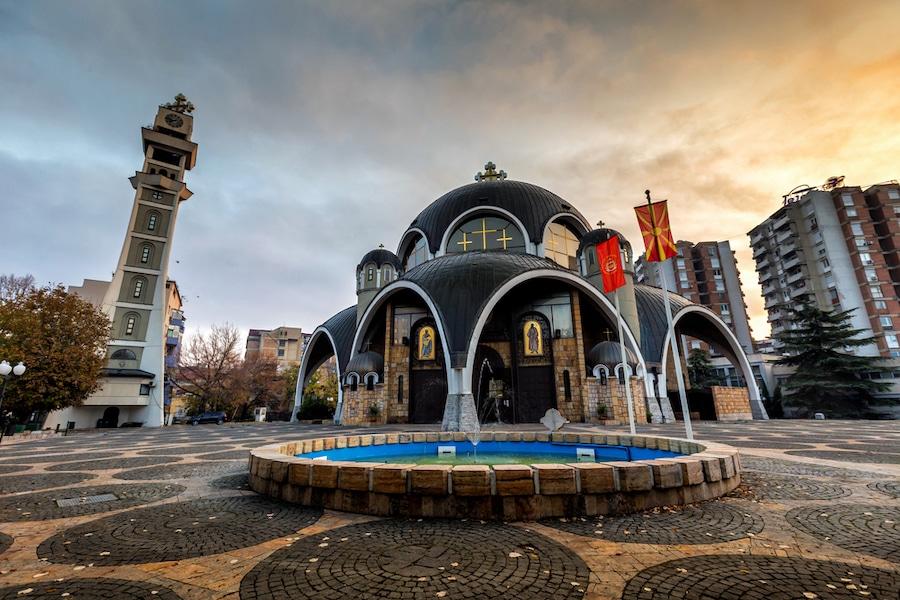 Skopje in Macedonia_ St. Clement Of Ohrid