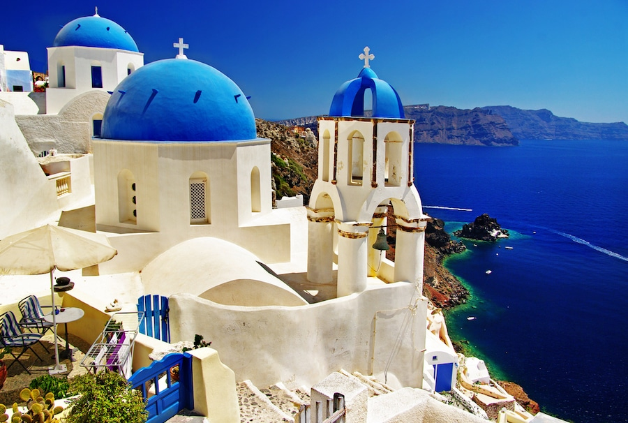 Easter In Greece - Santorini Church