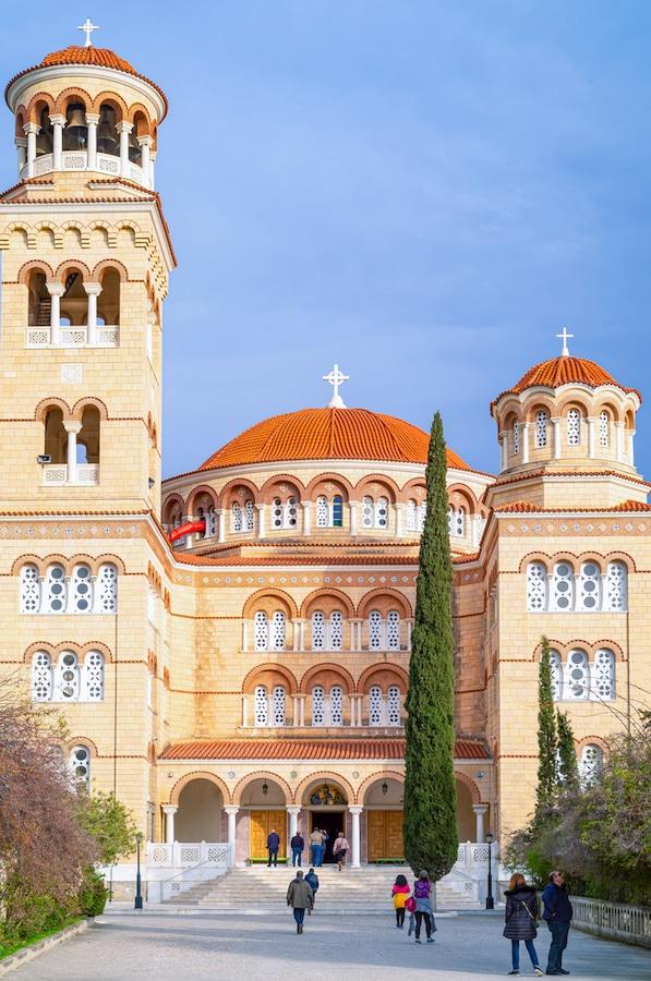 Aegina Greece Guide - Saint Nektarios Cathedral