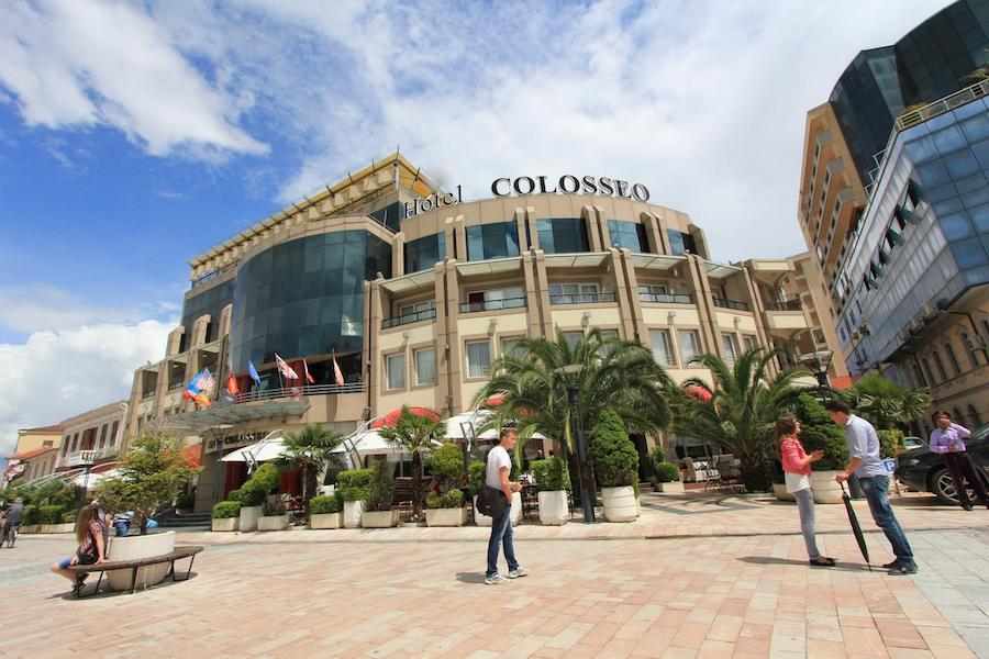 Albania Travel Blog_Where To Stay In Albania_Hotel Colosseo