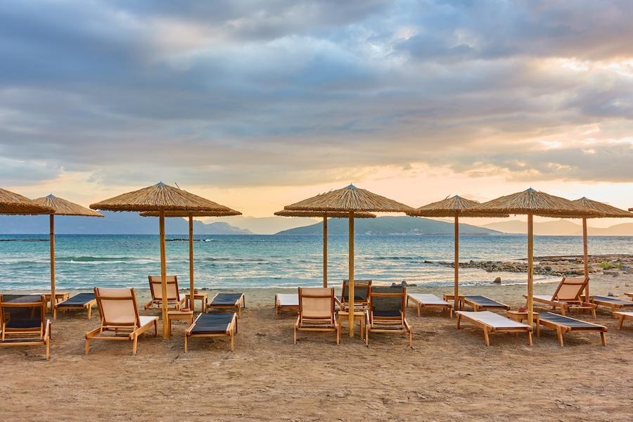 Beaches in Aegina Greece