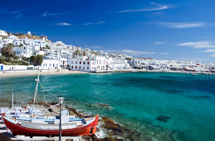 How To Get From Mykonos to Santorini - Beautiful Mykonos