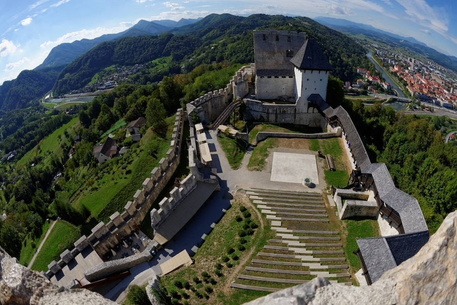 Best Castles In Slovenia - Celje Castle