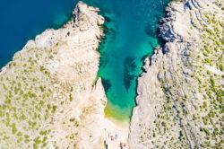 Best Beaches in Zadar County - Vrsi