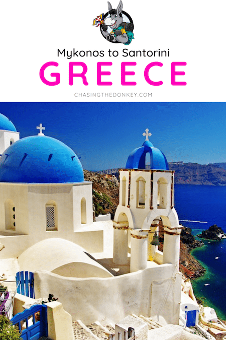 Greece Travel Blog_How To Get From Mykonos to Santorini Greece