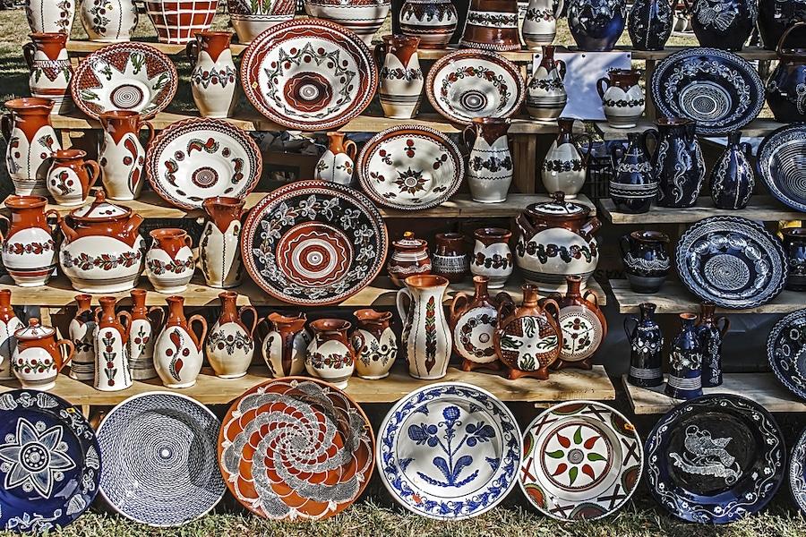 Romanian Souvenirs - Horezu Ceramics