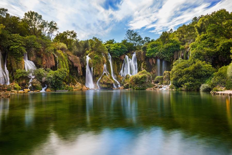 Kravice Waterfalls - Kravice waterfall in Bosnia and Herzegovina