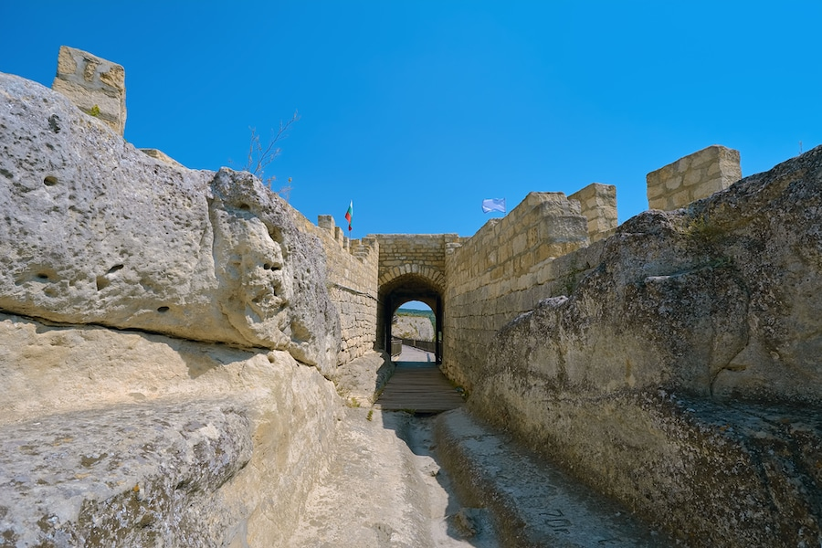 Best Castles In Bulgaria - Main Entrance to the Ovech Fortress, Bulgaria