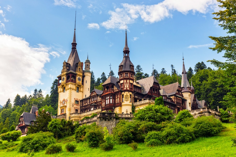 Castles in Romania - Romanian Castles - Peles castle, Sinaia, Romania